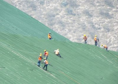 Mariscal Sucre International Airport Access, Quito – Ecuador - Erosion control