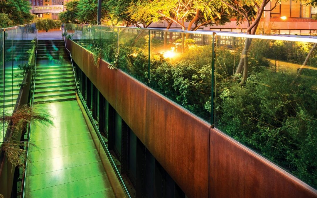 High Line Park Reopens