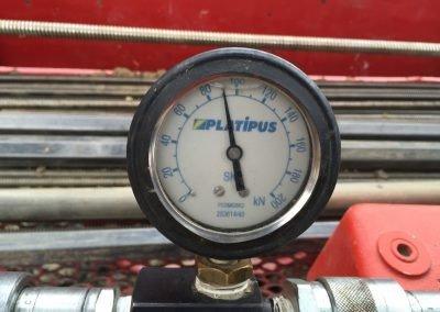 Savièse Slope Stabilisation - load gauge
