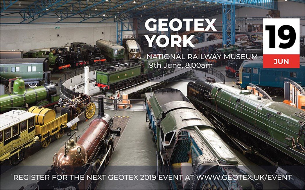 All aboard for GEOTEX!