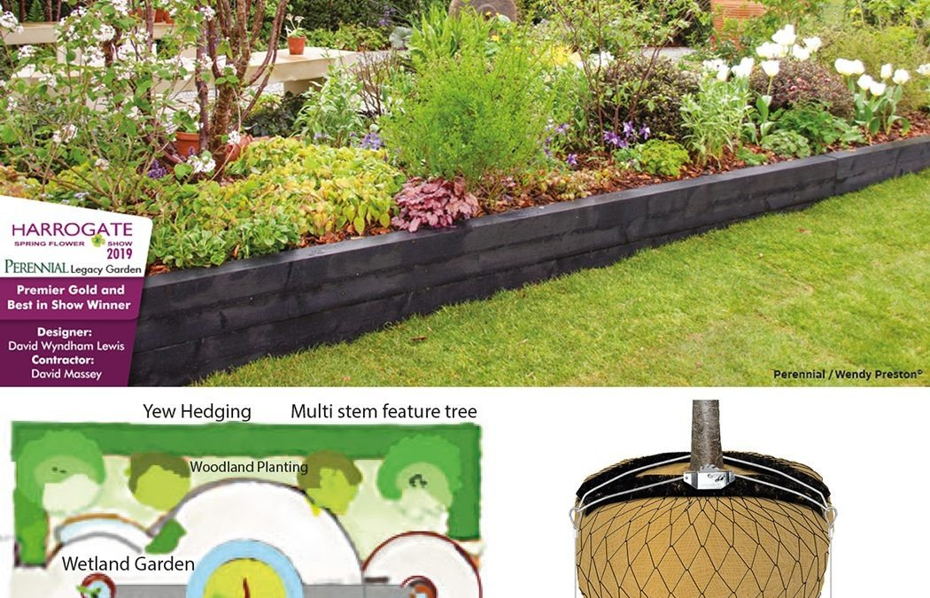 The Perennial Legacy Garden won Gold at the Harrogate Spring Flower Show