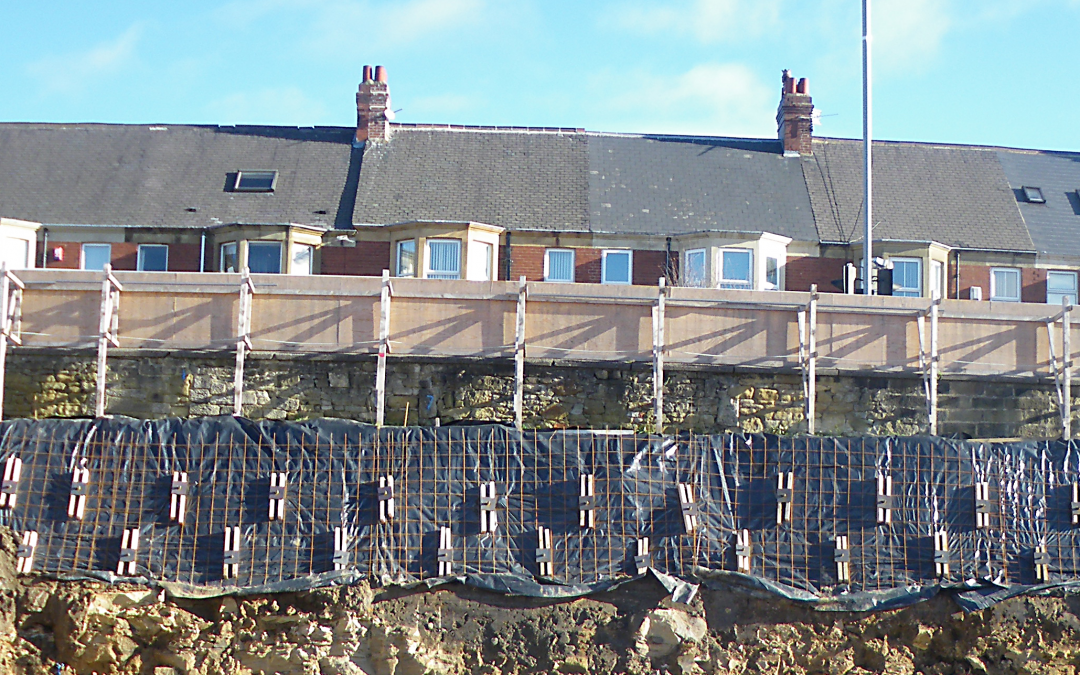 Cut Face Slope – Herrington House, Gateshead College
