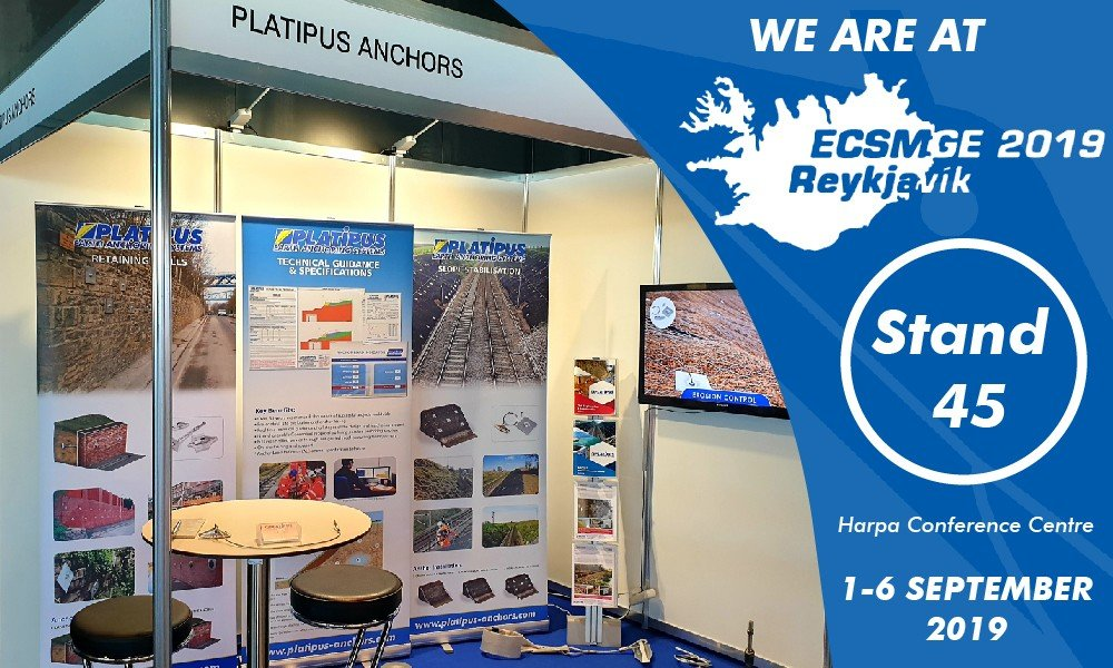 Platipus will be exhibiting at The European Conference on Soil Mechanics and Geotechnical Engineering in Reykjavik