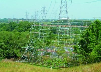 Power Line Crossing – Glasgow