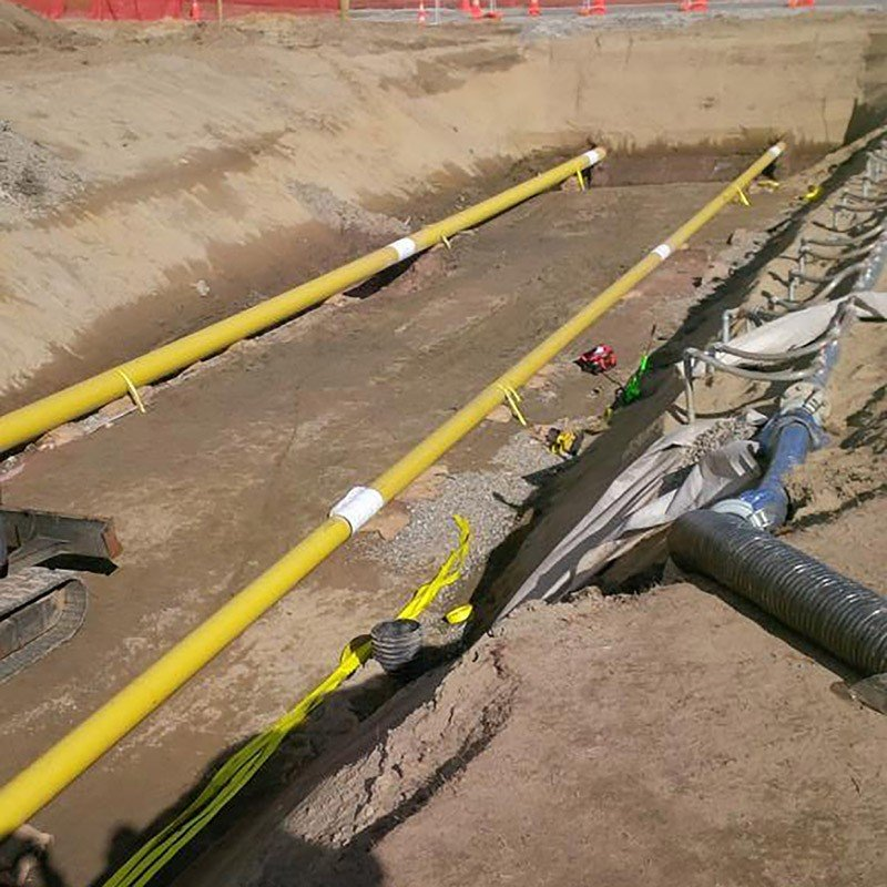 Mackay's Crossing to Pekapeka, V129 Pipeline - New Zealand - Installed with Platipus S8 Pipe Kits