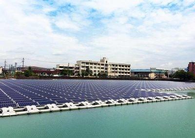 Ootsuda Ike Solar Park, Japan