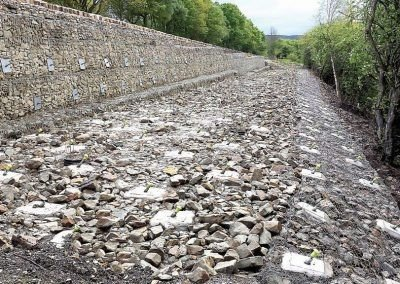 A57 Land Slip – Slope Reinforcement