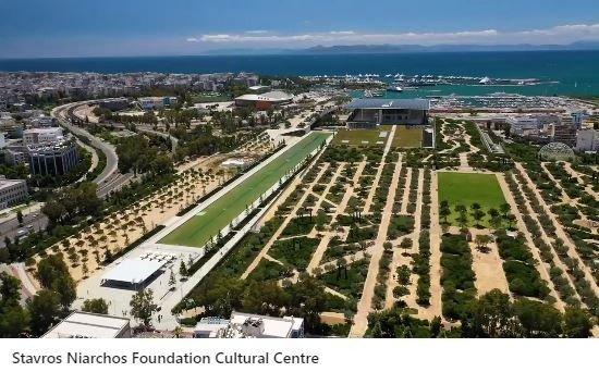 The Stavros Niarchos Foundation Cultural Center (SNFCC)