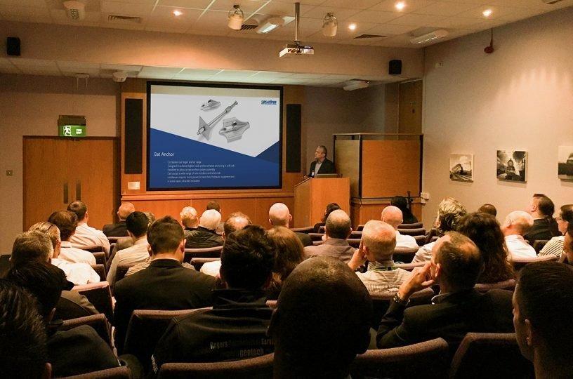 Sales presenting at Geotex