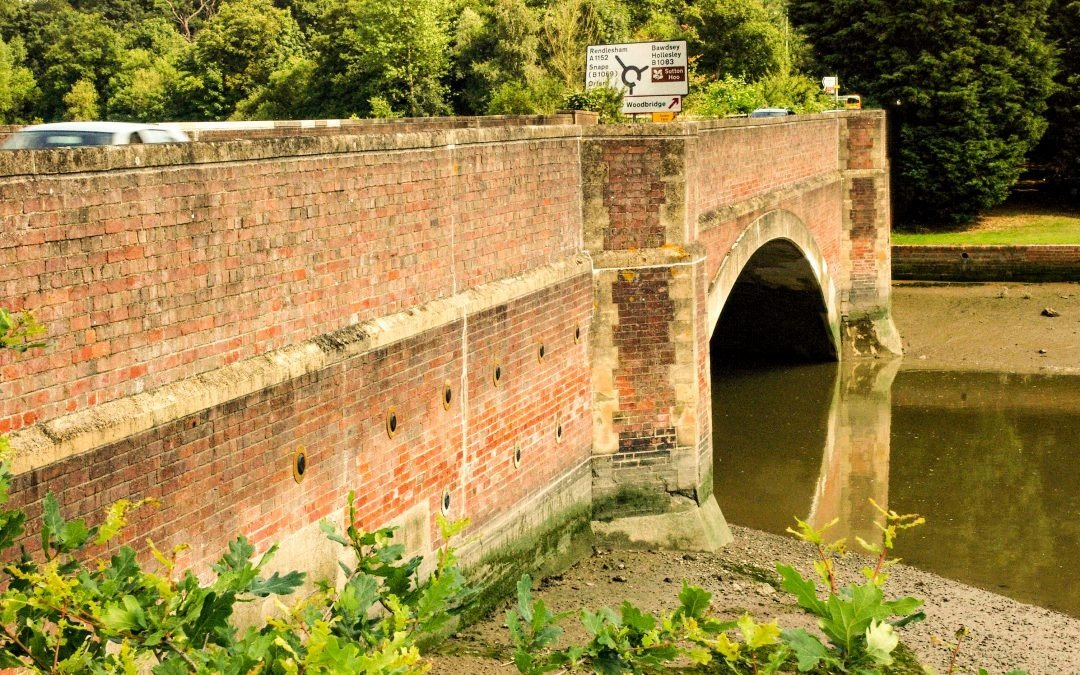 Support to the wing walls of Wilford Bridge in Suffolk