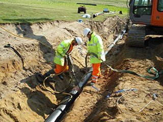 Stornoway Pipeline Construction