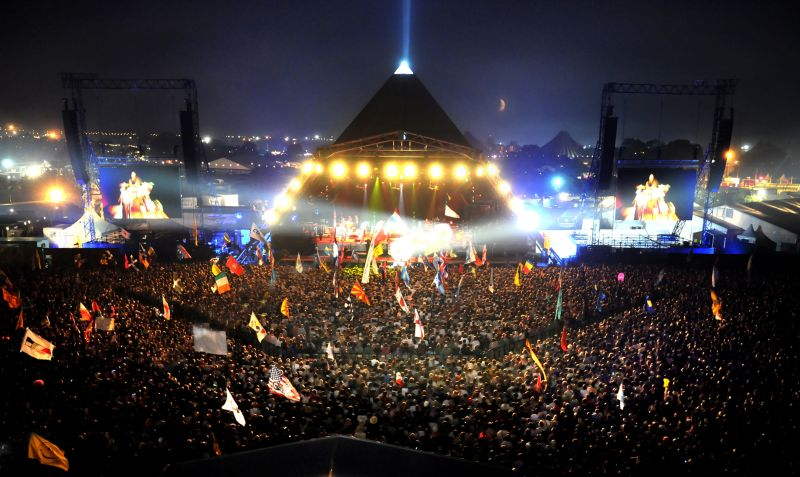 Sad to hear about the passing of Bill Harkin who designed and built the first Glastonbury Pyramid Stage in 1971