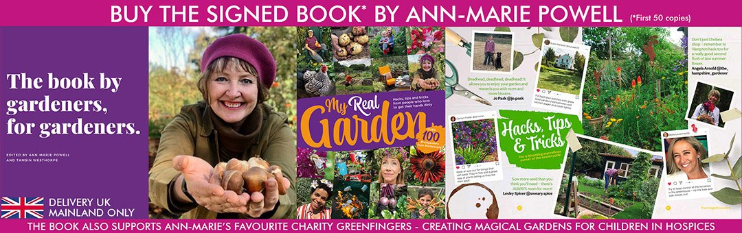 My Real Garden by Ann-Marie Powell