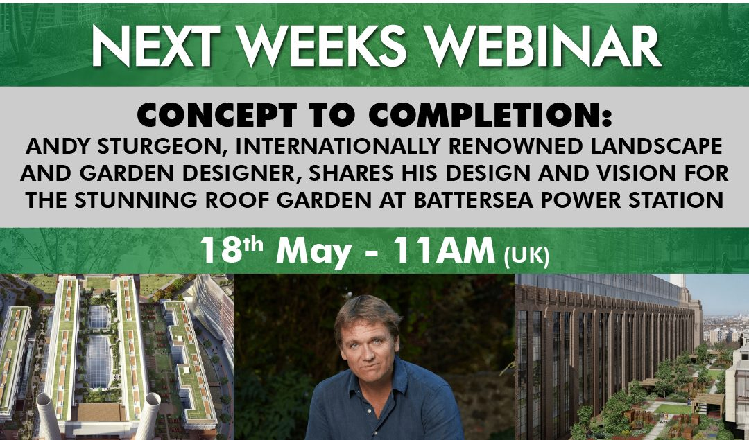 Register Today for Andy Sturgeon's 'Concept To Completion' Webinar