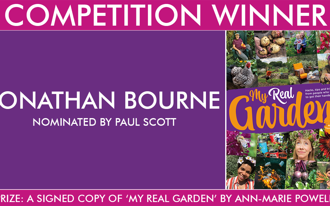 Congratulations to the 'My Real Garden' Competition Winner
