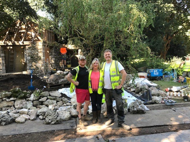 Preparations for RHS Chelsea Flower Show 2021