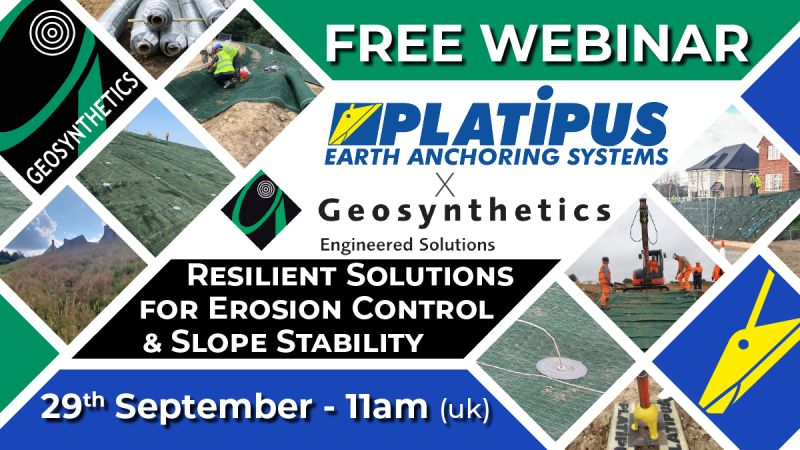 Concept to Completion webinar withGeosynthetics Limited